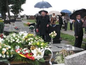 Pogrzeb Klary Gałbas